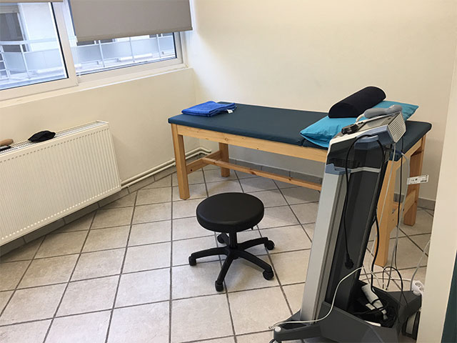 αίθουσα Φυσικοθεραπείας